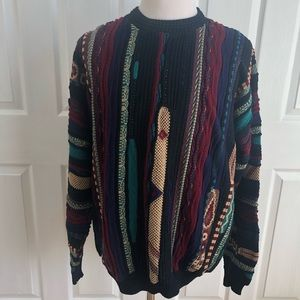 VTG Protege Collection USA Cosby cotton sweater XL